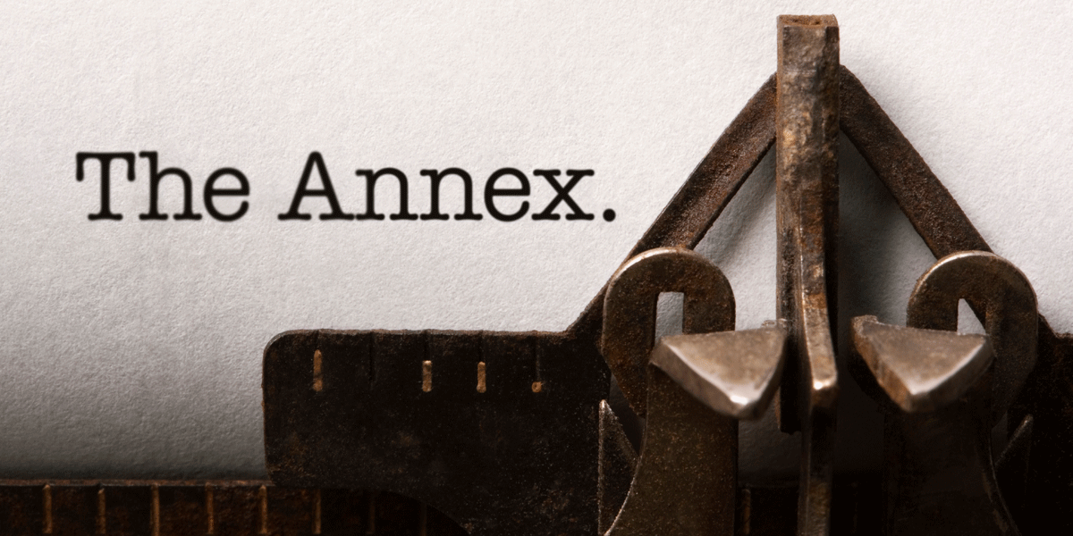 The Annex newsletter